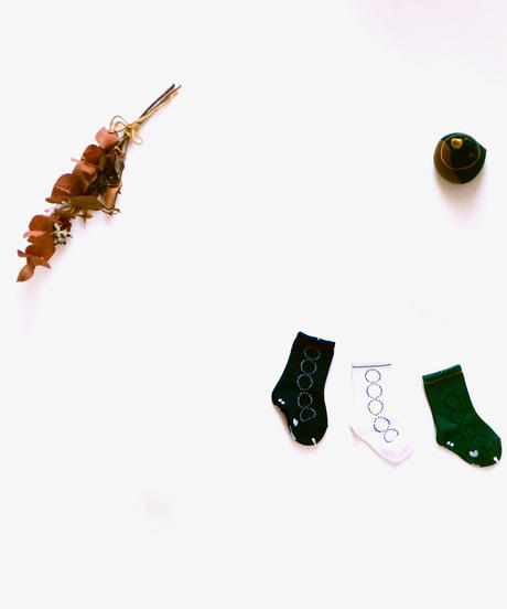 """【 ミナペルホネン 19AW 】XA7897P tambourine  """"ソックス"""" / 9 - 15cm"""