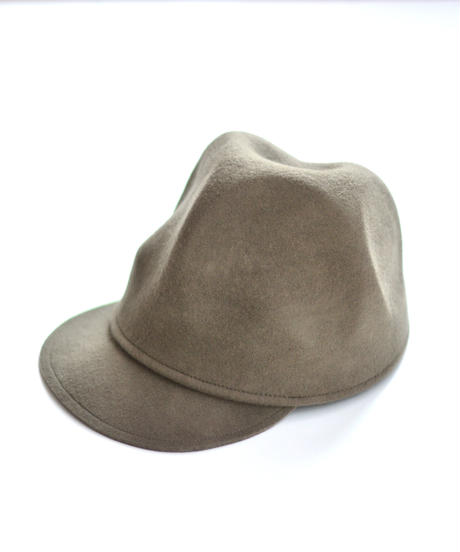 【 MOUN TEN. 2019AW 】mountain cap / mocha