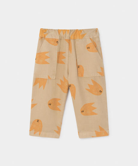 【 Bobo Choses 2019AW 】219179 ALL OVER COMETS STRAIGHT PANTS
