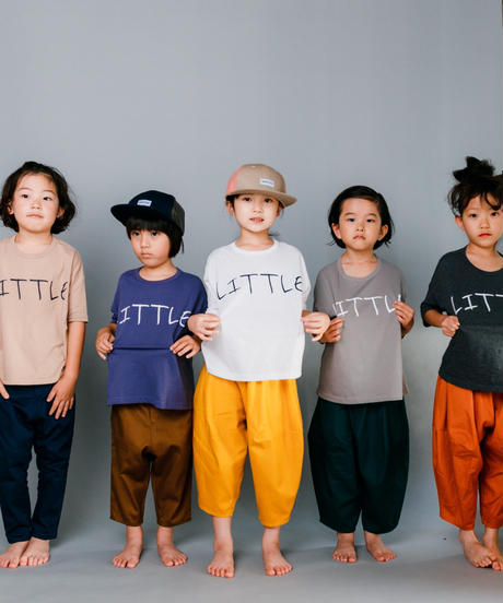 【 nunuforme 2020SS 】littleプリントT [nf13-898-500]  / Top Charcoal