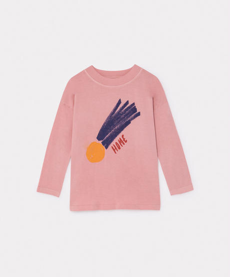 【 Bobo Choses 2019AW 】219002  A STAR CALLED HOME BLUE LONG SLEEVE T-SHIRT