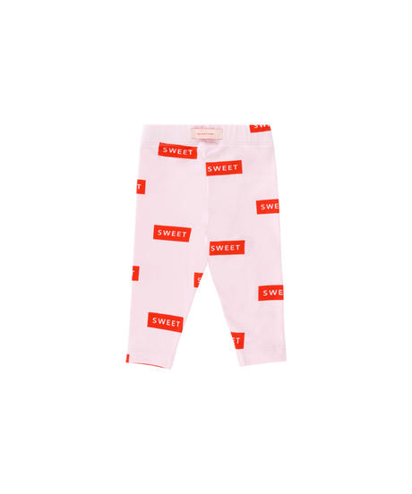 【 tiny cottons 2019SS 】SS19-317 'SWEET' PANT / pearl/red