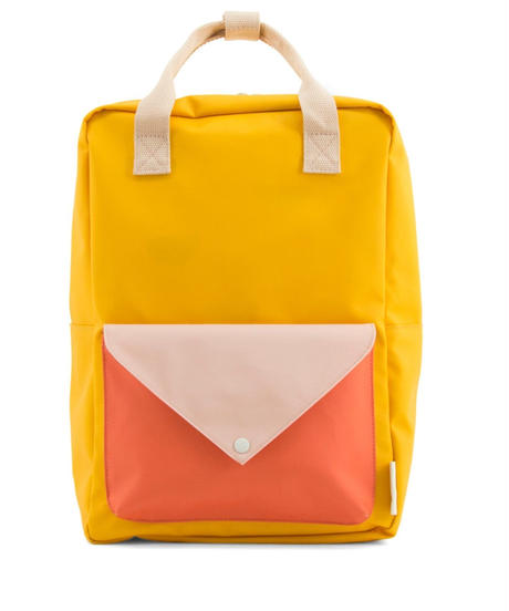 【 Sticky Lemon 】 BACKPACK ENVELOPE / WARM YELLOW / size  L