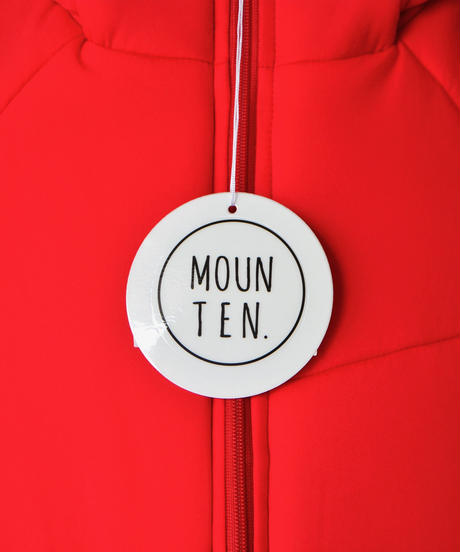 【 MOUN TEN. 2019AW 】air blouson / red / レディース