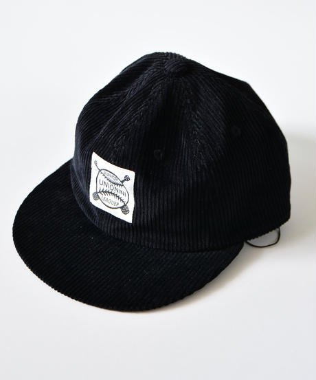 【 UNIONINI 2019AW 】19AW-AC-036 baseball cap / black