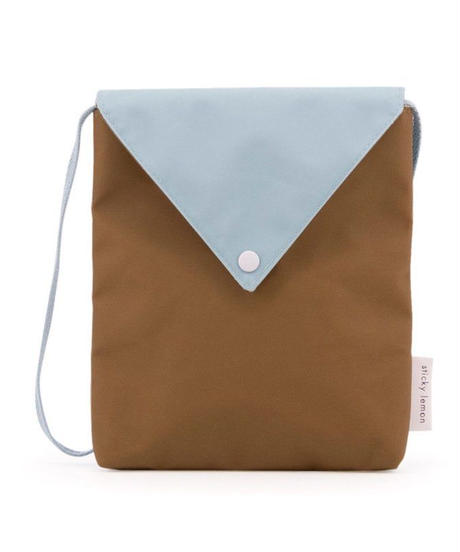 【 Sticky Lemon 】 ENVELOPE BAG / GOLD GREEN