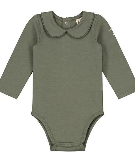【 GRAY LABEL 2019AW】Baby Collar Onesie / Moss / 9-12m