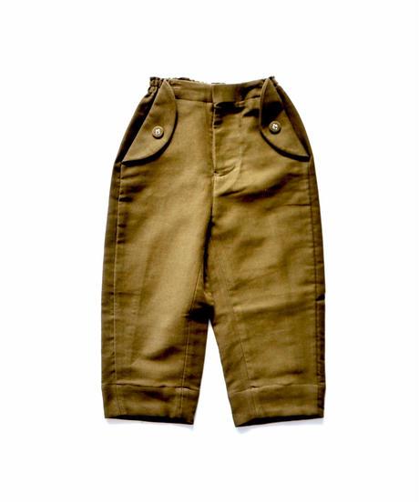 """【 ミナペルホネン 19SS 】XA4081P bonbon  """"パンツ"""" / khaki / 90-100cm"""
