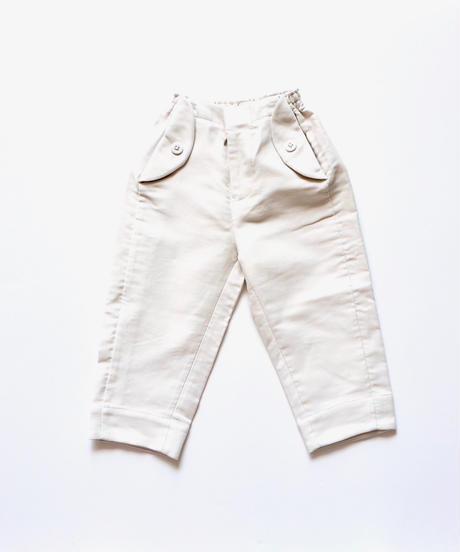 """【 ミナペルホネン 19SS 】XA4081P bonbon  """"パンツ"""" / white / 90-100cm"""