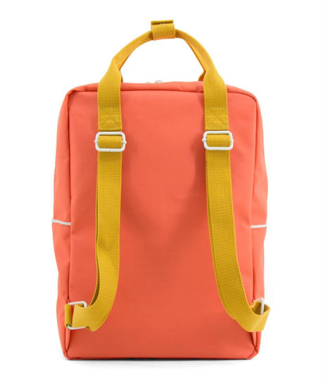 【 Sticky Lemon 】 BACKPACK TEDDY / SPORTY RED / size L