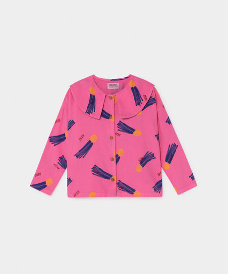 【 Bobo Choses 2019AW 】219027 ALL OVER A STAR CALLED HOME BLOUSE