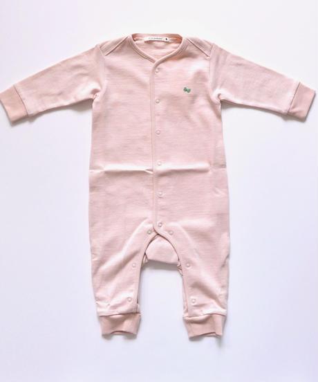 """【 ミナペルホネン 19AW 】XA8986P zutto  """"ロンパース"""" / pink / 70cm"""