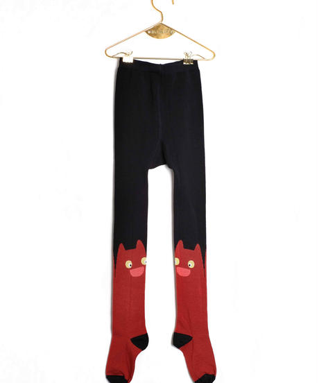【 WOLF&RITA 2018AW 】 KIDS TIGHTS / BRICK CAT