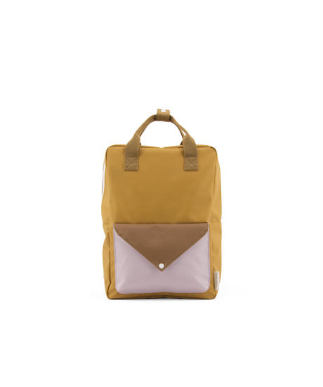 【 Sticky Lemon 】 BACKPACK ENVELOPE / CARAMEL FUDGE x S.BROWN / size  L