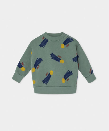 【 Bobo Choses 2019AW 】219150 ALL OVER A STAR CALLED HOME SWEATSHIRT