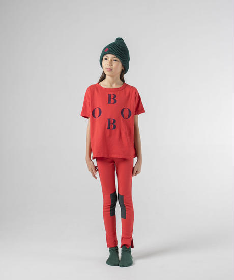 【 Bobo Choses 2019AW 】219024 GREEN PATCH LEGGINGS