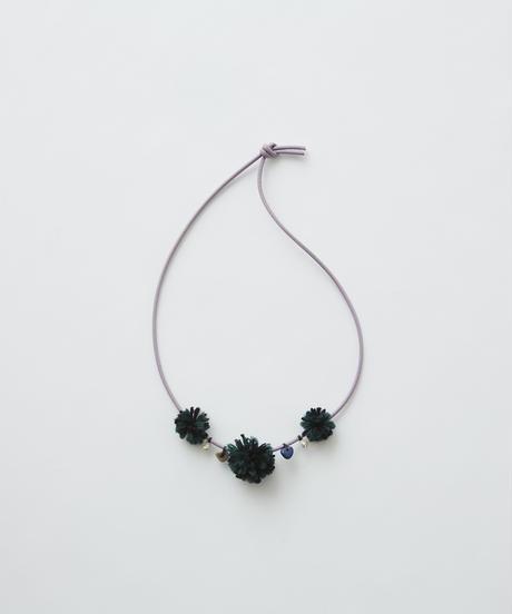 【 eLfinFolk 2019AW 】elf-192A42 talisman necklace / lilac green bonbon