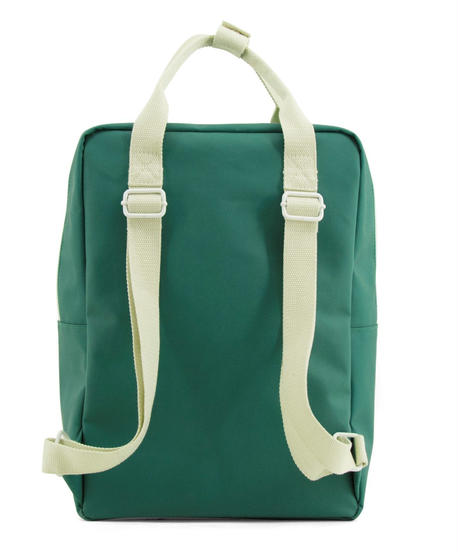 【 Sticky Lemon 】 BACKPACK ENVELOPE / EMERALD GREEN / size L