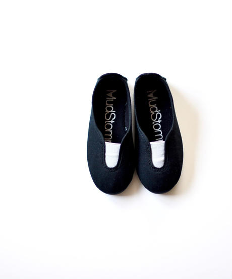 【 La Cadena 2019SS 】 GIMNASIA - Panel Slip On / BLACK x LIGHT GREY / 14〜18.5cm