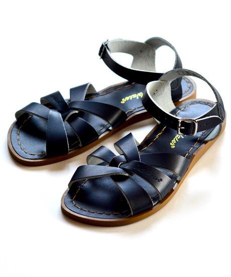 """【 Saltwater Sandals 19SS】 海でも履けるレザーサンダル  / ソルトウォーターサンダル """"Original""""   / ネイビー/ 22.5 - 25cm"""