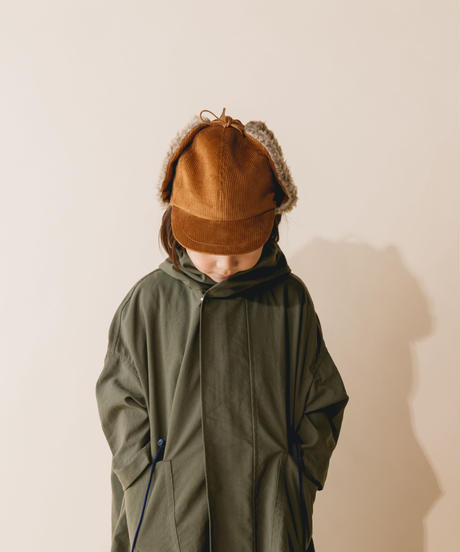 【 nunuforme 2019AW 】nf12-000-002 ボアキャップ  / Brown