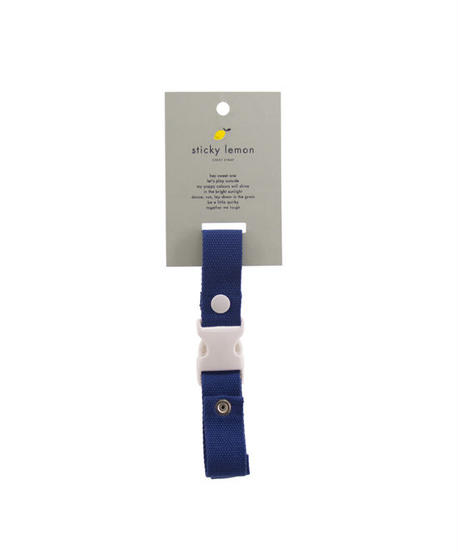 【 Sticky Lemon 】CHEST STRAP / DENIM BLUE