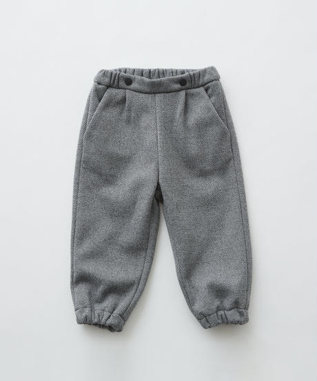 【 eLfinFolk 2019AW 】elf-192F29 freece pants / gray / 80 - 100cm