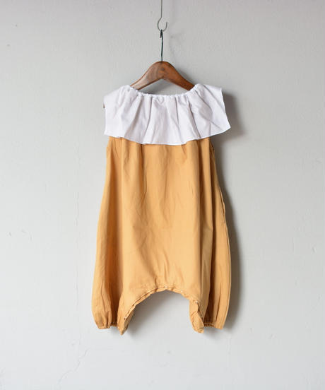 【 folk made 2020SS 】#3 lilly all in one / camel x white
