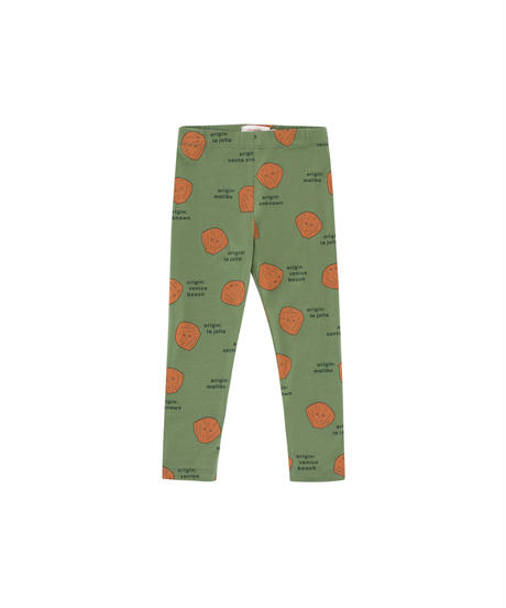 【 tiny cottons 2019SS 】AW19-015-016 SHELLS PANT / green wood/brown