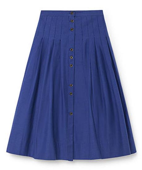 【 Little Creative Factory 2018AW】Horizon Skirt  / BLUE