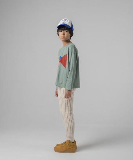 【 Bobo Choses 2019AW 】219005 FLAG LONG SLEEVE T-SHIRT