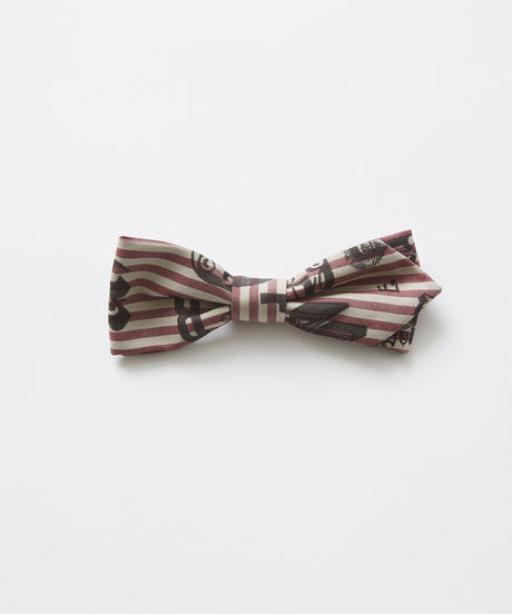 【 eLfinFolk 2019SS 】elf-111A05 bow tie / burgundy