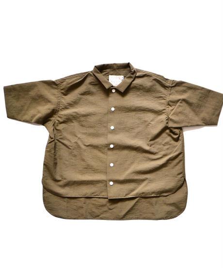 【 SWOON 2019AW 】sw12-500-081 ワイドシャツ / Khaki