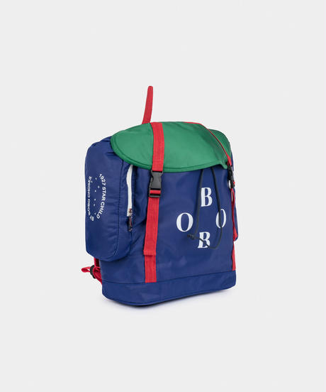 【 Bobo Choses 2019AW 】219230 BOBO MULTICOLOR BACKPACK