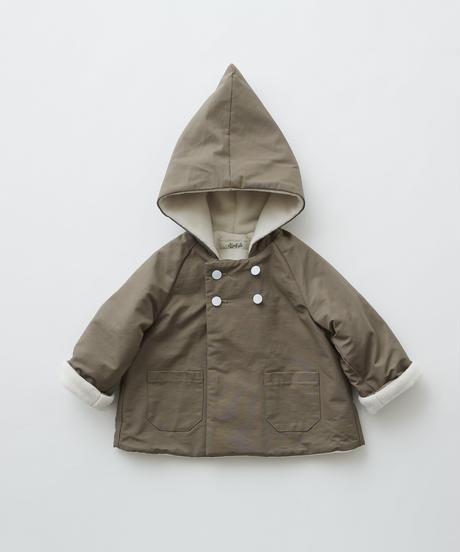 【 eLfinFolk 2019AW 】elf-192F22 elf coat / mocha / 110 - 130cm