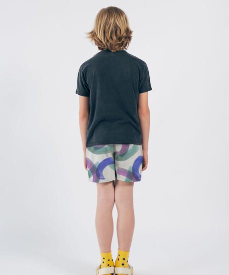 【 Bobo Choses 2020SS 】12001097	All Over Painting Jersey Bermuda