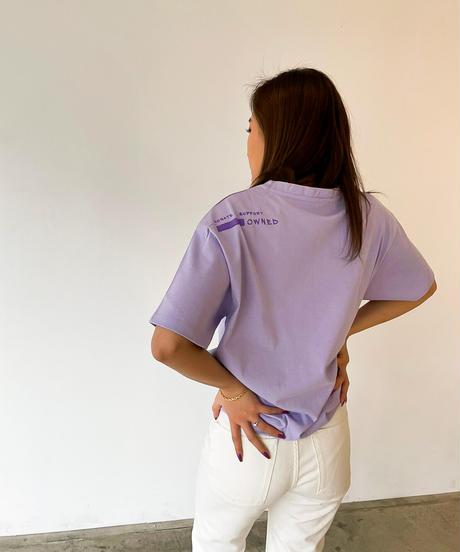 SITE SHUT DOWN シャイニープリントTシャツ