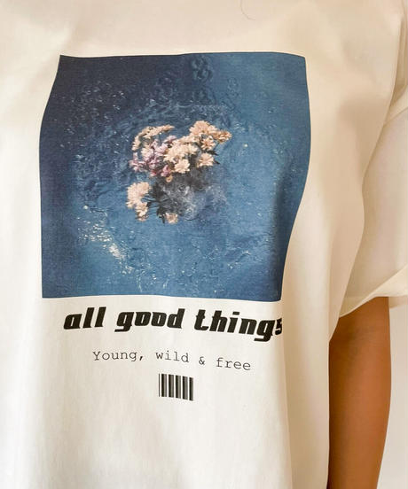 all good things Tシャツ