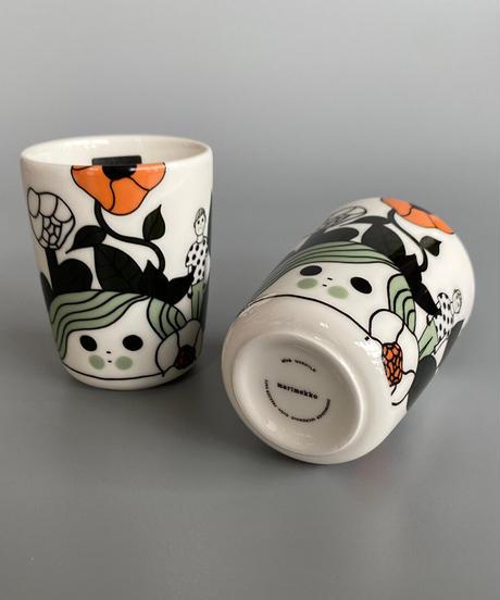 marimekko(マリメッコ)日本限定 Marikyla コーヒーカップセット 10.WHT