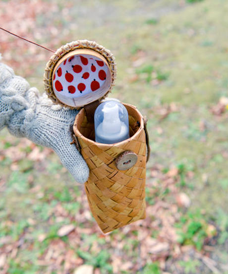 白樺の哺乳瓶&ペットボトルケース