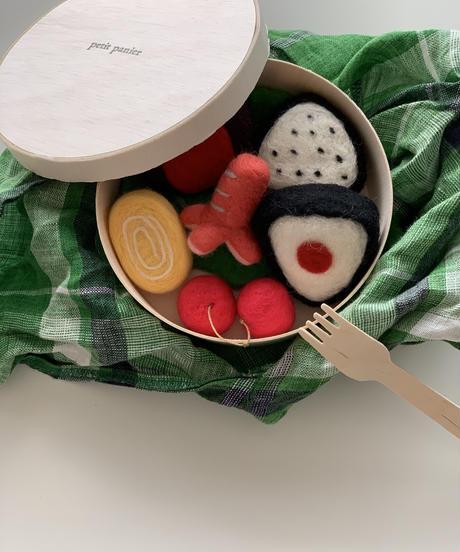 羊毛フェルトおままごとSET〜お弁当編〜