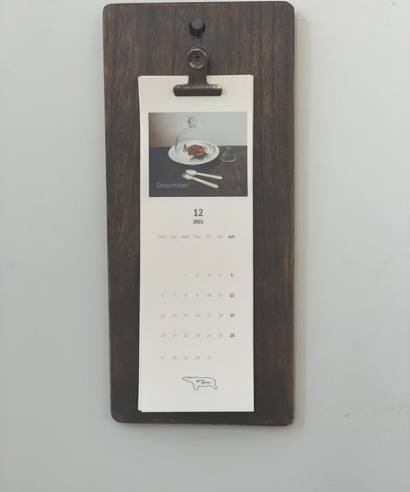 コラボカレンダー+クリップボードセット