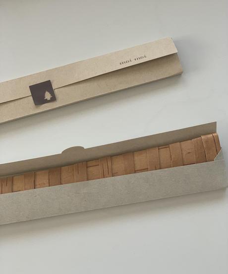 白樺のオリジナルパンナイフケース(morinokiパンナイフ専用)