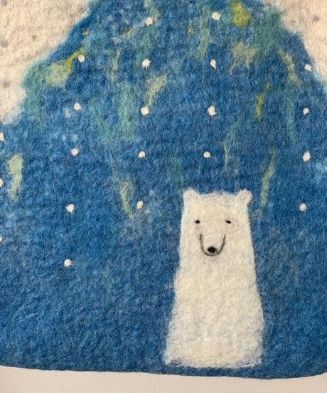 シロクマと北極星BAG