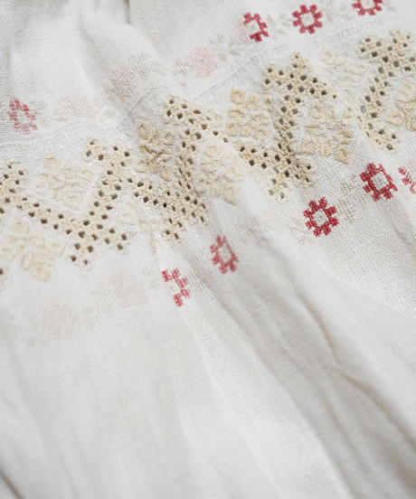 1920'sウクライナ刺繍ワンピース