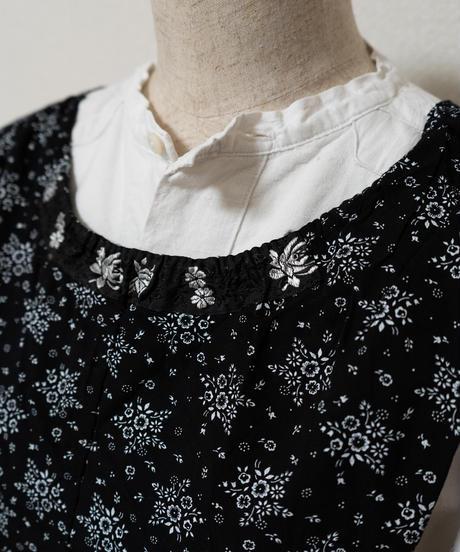 1900'sオランダベスト③レーヨン小花