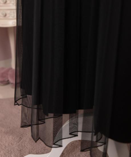 ラブリープリーツラップスカート