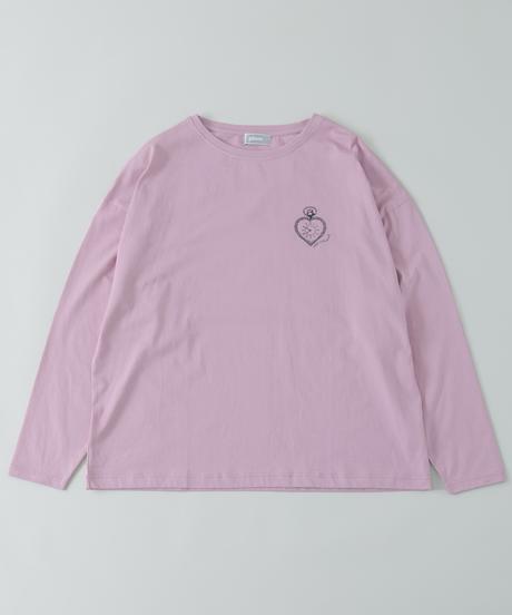 おめかし天使のオーバーサイズロングTシャツ