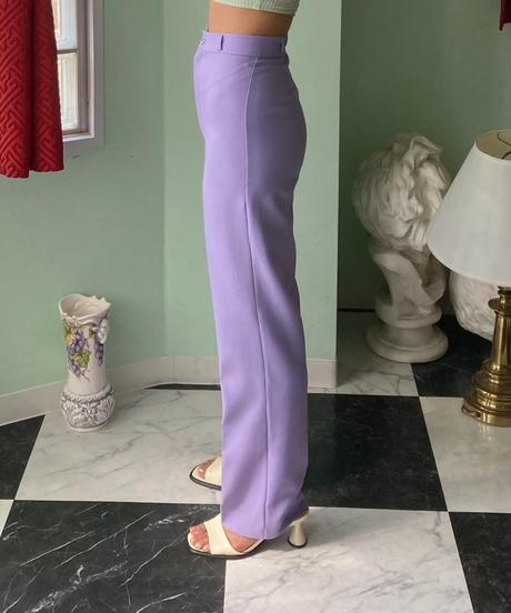 1970年代 パープルカラー パンツ