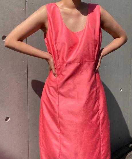 ヴィンテージ シルクドレス